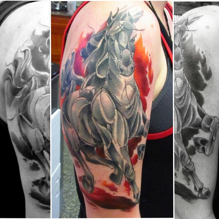 d80c5bb01 tattoo-factory-chicago-amy-zager-abstract-water-color-stallion